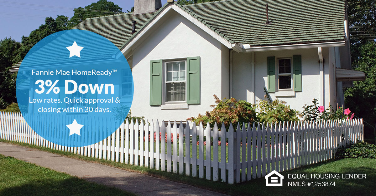 HomeReady mortgage loan